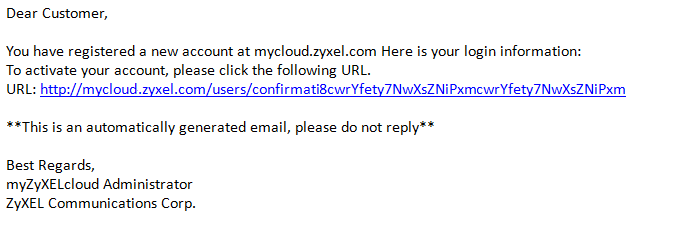 E mail confirmation 2